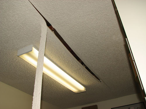 during repair drywall cracks ceiling tape gallery damage hole photos