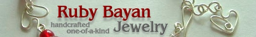 Ruby Bayan Jewelry - handcrafted, one-of-a-kind