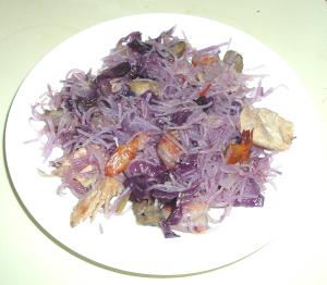 Purple Noodles
